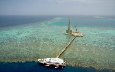 Andromeda diving Sudan