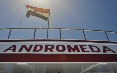 Boat Andromeda at Angarosh Sudan