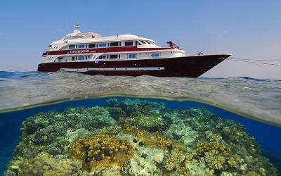 Scuba Diving Boat Red Sea