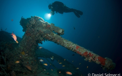 Red Sea wreck underwater