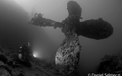 Red Sea wreck in Sudan