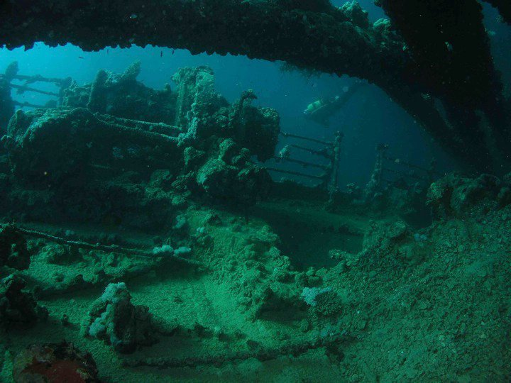 Wreck of Umbria in Sudan