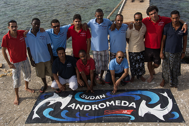 Boat Andromeda crew
