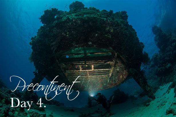 Precontinent Cousteau