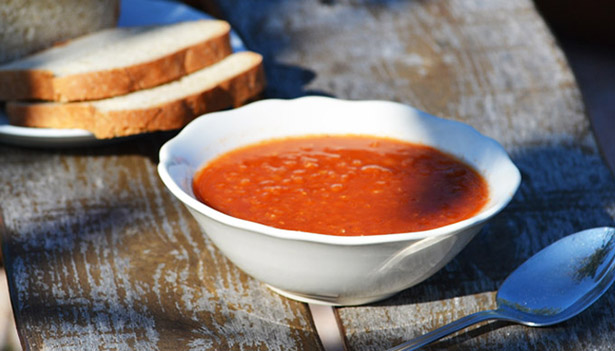 Red lentil soup Egyptian recipes