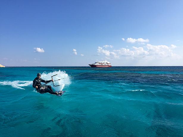 Kitesurf spot Hurghada