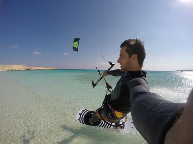 Kite surfing egypt red sea