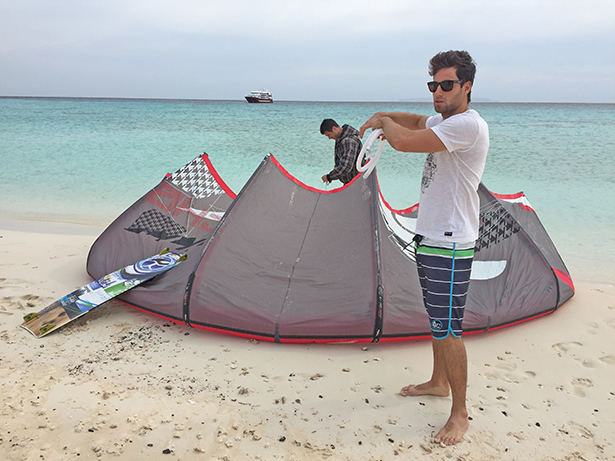 Kiteboarding egypt red sea