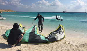 Kitesurf kitesafari Red Sea