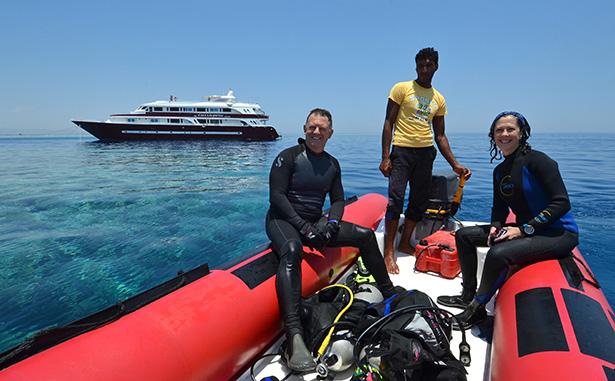 The ideal scuba diver