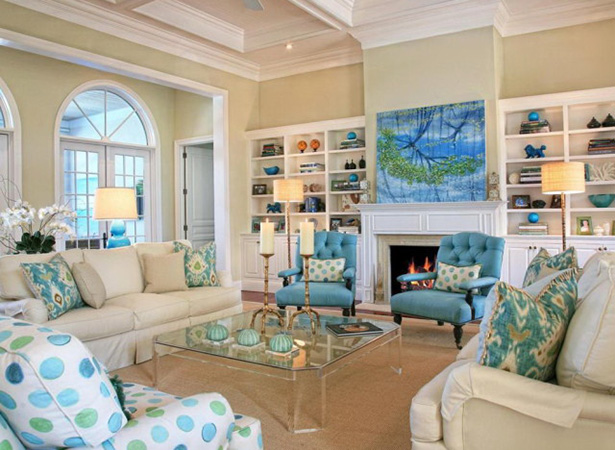 coastal living room furniture