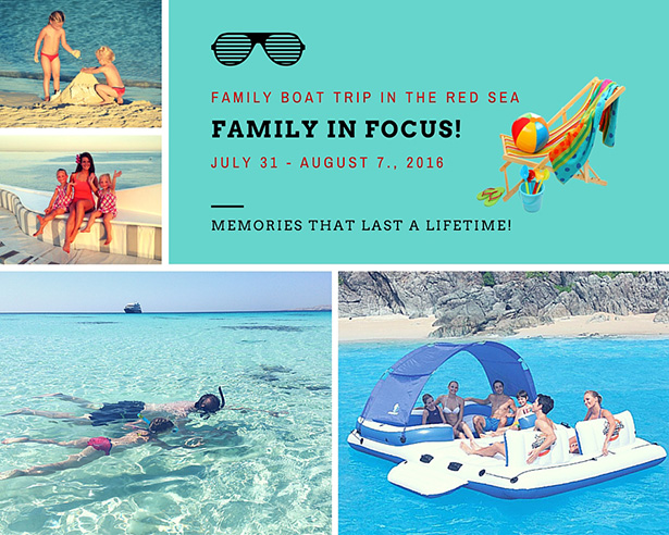 family holiday in focus