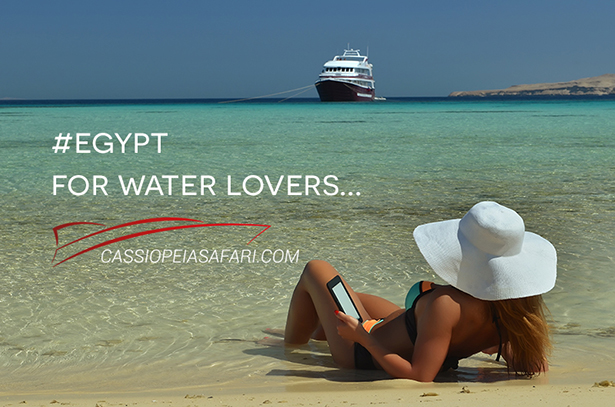 Holiday cruise in Egypt