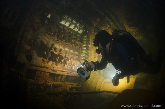 Diving the wreck of Umbria in Sudan