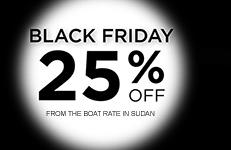 Black Friday diving safari travel sale