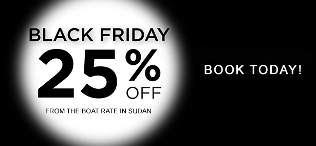 Black Friday diving safari travel sale