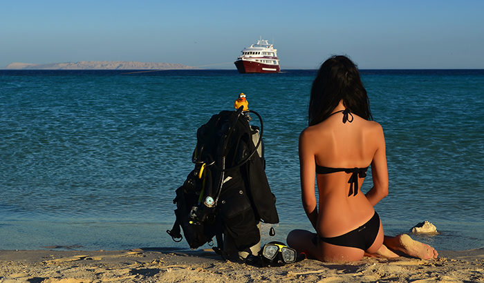 valentine's day promotion scuba diving